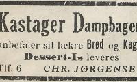 Kastager - Dampbageri.