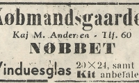 Nøbbet - Købmandsgården.