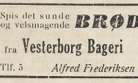 Vesterborg - Bageri.