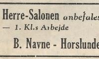 Horslunde - Herre Salon.