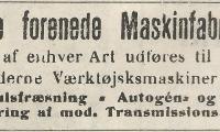Nakskov - De Forenede Maskinfabriker.