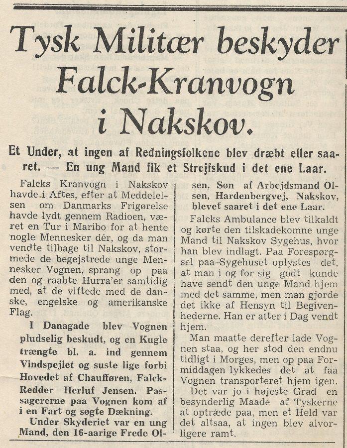 Falk-kranvogn